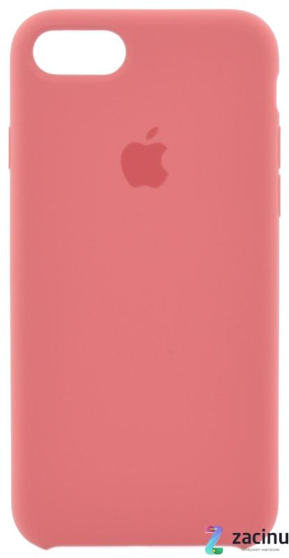 """Чохол-накладка для iPhone 7/8 (4.7"""") Silicon Case Camellia (original) Wine"""