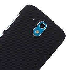 Чохол-накладка Nillkin для HTC Desire 526/ 526G/ Desire 326G Matte ser. +плівка Чорний, фото 2
