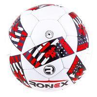 Мяч футбольный Grippy Ronex AD-16, красный