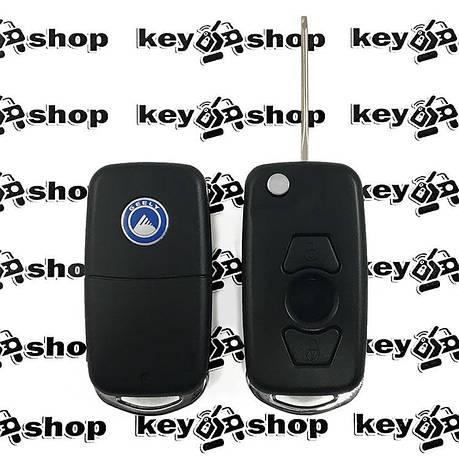 Копрус выкидного ключа для Джили (Geely) 3 кнопки, фото 2