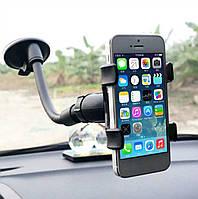 Универсальный телескопический держатель для телефона на липучке в автомобиль «Transformer», фото 1