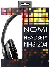 Навушники Nomi NHS-204 Чорний, фото 2