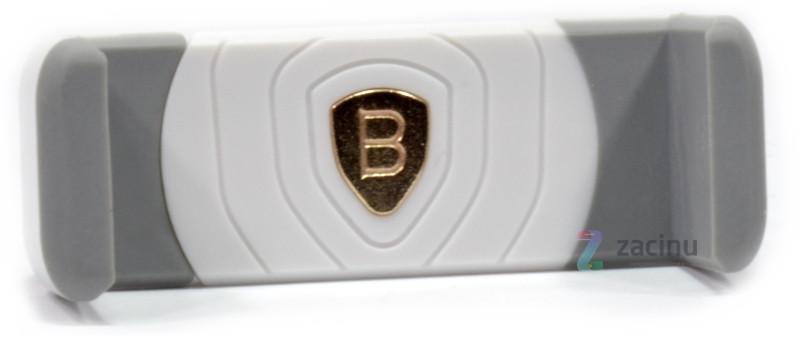 Тримач автомобільний Baseus SUGENT-LD02 для Смартфона Mini Shield Plus Car Mount Білий/сірий