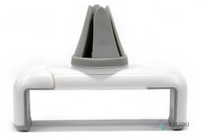 Тримач автомобільний Baseus SUGENT-LD02 для Смартфона Mini Shield Plus Car Mount Білий/сірий, фото 2