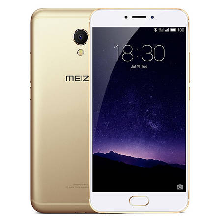 Смартфон MEIZU MX6 4/32GB Gold, фото 2