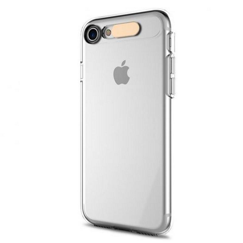 "Чехол накладка ROCK для iPhone 7 (4.7 "") Tube ser. TPU бесцветный / прозрачный"