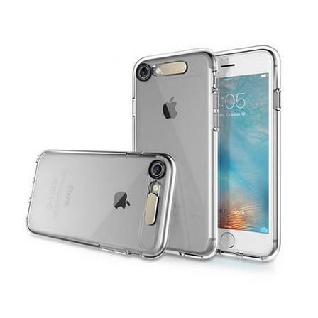 "Чехол накладка ROCK для iPhone 7 (4.7 "") Tube ser. TPU бесцветный / прозрачный, фото 2"