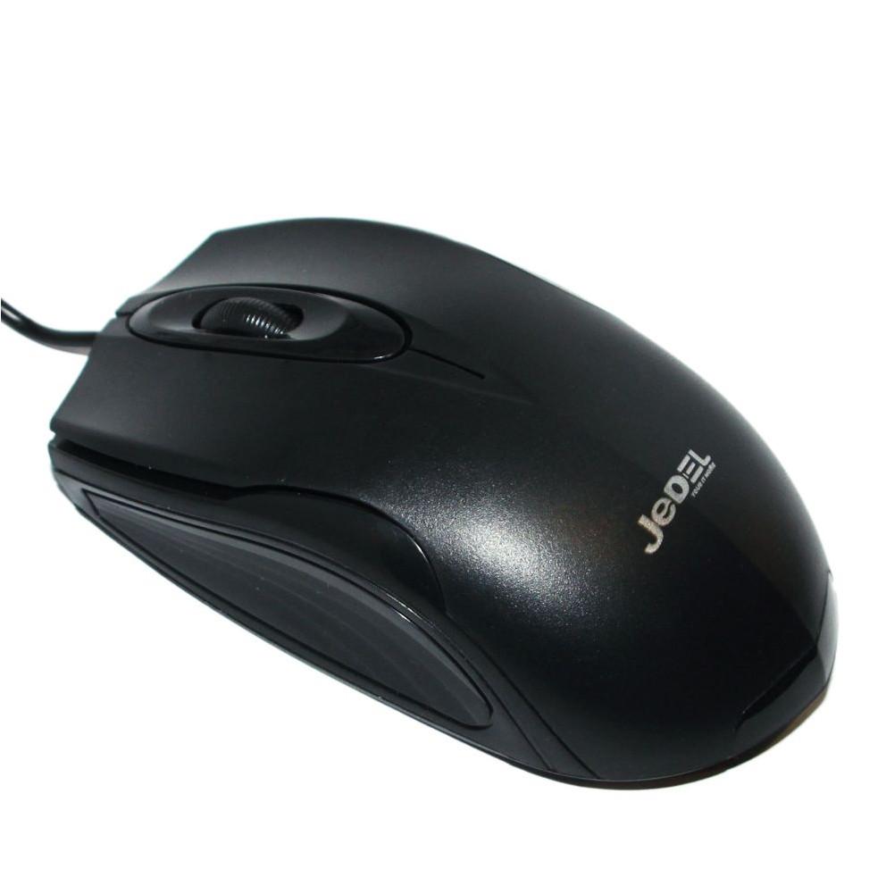 Мишка JEDEL M11 Провідна Чорна