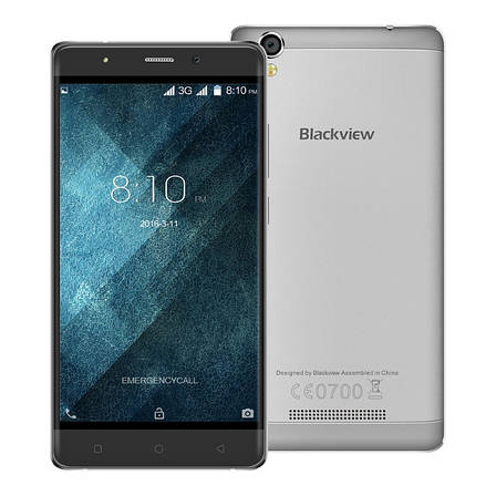 Смартфон Blackview A8 Gray, фото 2