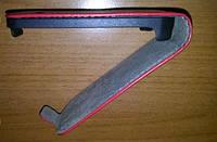 Красный кожаный чехол для Samsung S5282 / s5280