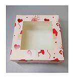Коробка кондитерская для пирожных 170*170*90 , фото 2