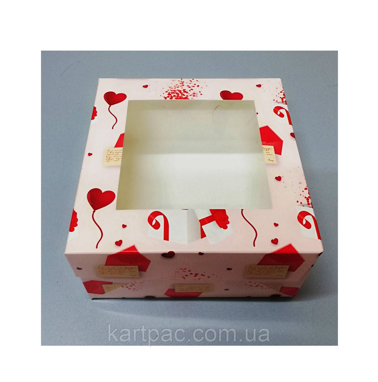 Коробка кондитерская для пирожных 170*170*90