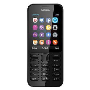 Мобільний телефон NOKIA 222 Dual SIM (чорний), фото 2