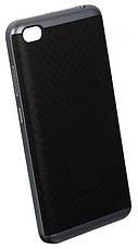 Чохол-накладка iPaky для Xiaomi Redmi 4a TPU+PC Чорний/сірий(333510), фото 3
