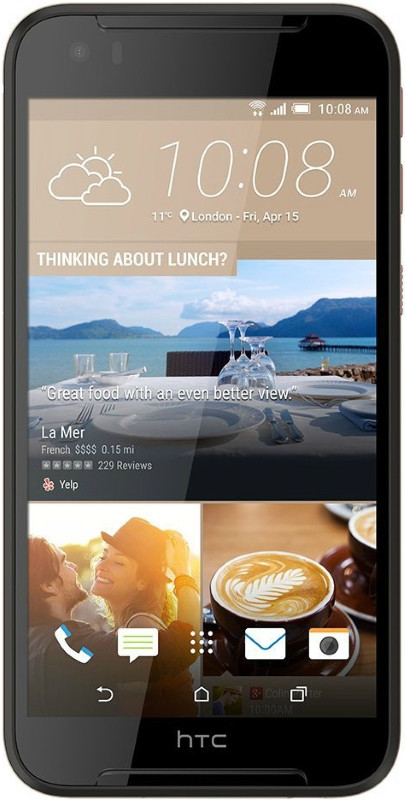 Смартфон HTC Desire 830 Dual Sim Black Gold (чорний)