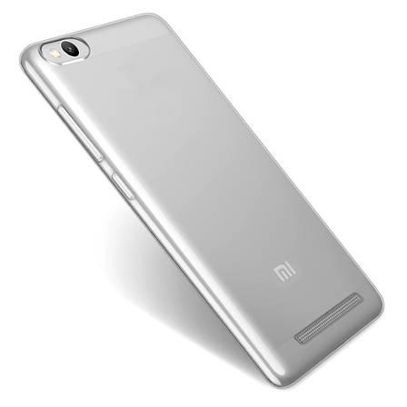 Чохол-накладка TPU для Xiaomi Redmi 4a Ultra-thin ser. Прозорий/безколірний, фото 2
