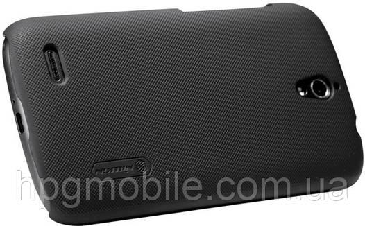 Чехол для Huawei Ascend G610 - Nillkin Super Frosted Shield (пленка в комплекте)