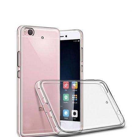 Чохол-накладка TPU для Xiaomi Mi 5s Ultra-thin ser. Прозорий/безколірний, фото 2