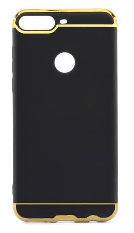 Чохол-накладка Joint Series для Huawei Y7 Prime (2018) Чорний, фото 2