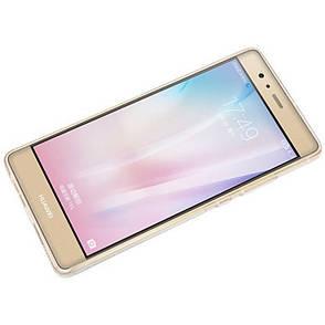 Чехол накладка TPU для Huawei P9 Ultra thin ser. Прозрачный / бесцветный, фото 2