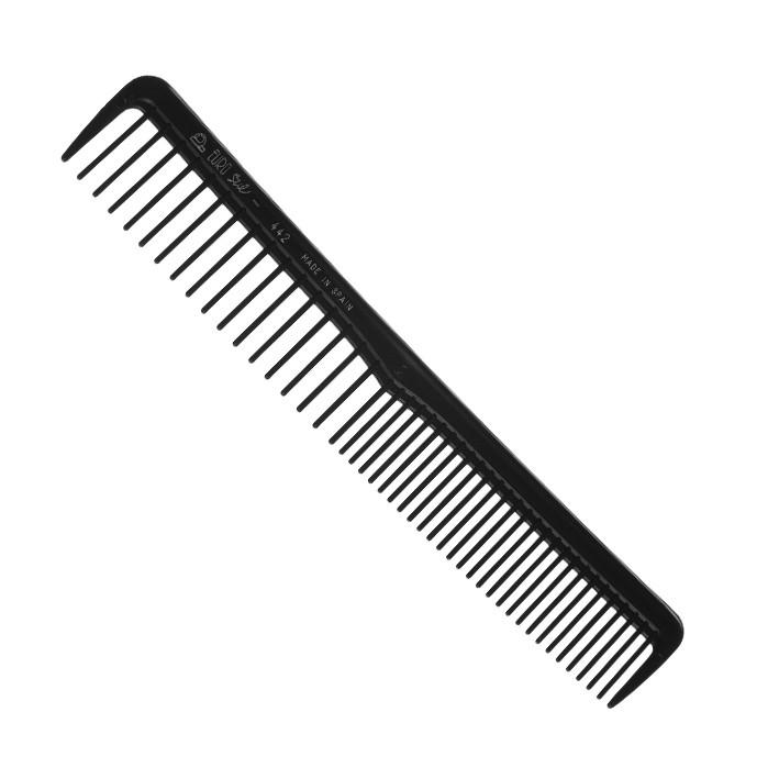 Расчёска для стрижки комбинированная Eurostil 00442