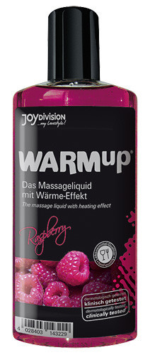 Массажное масло WARMup малина 150 мл