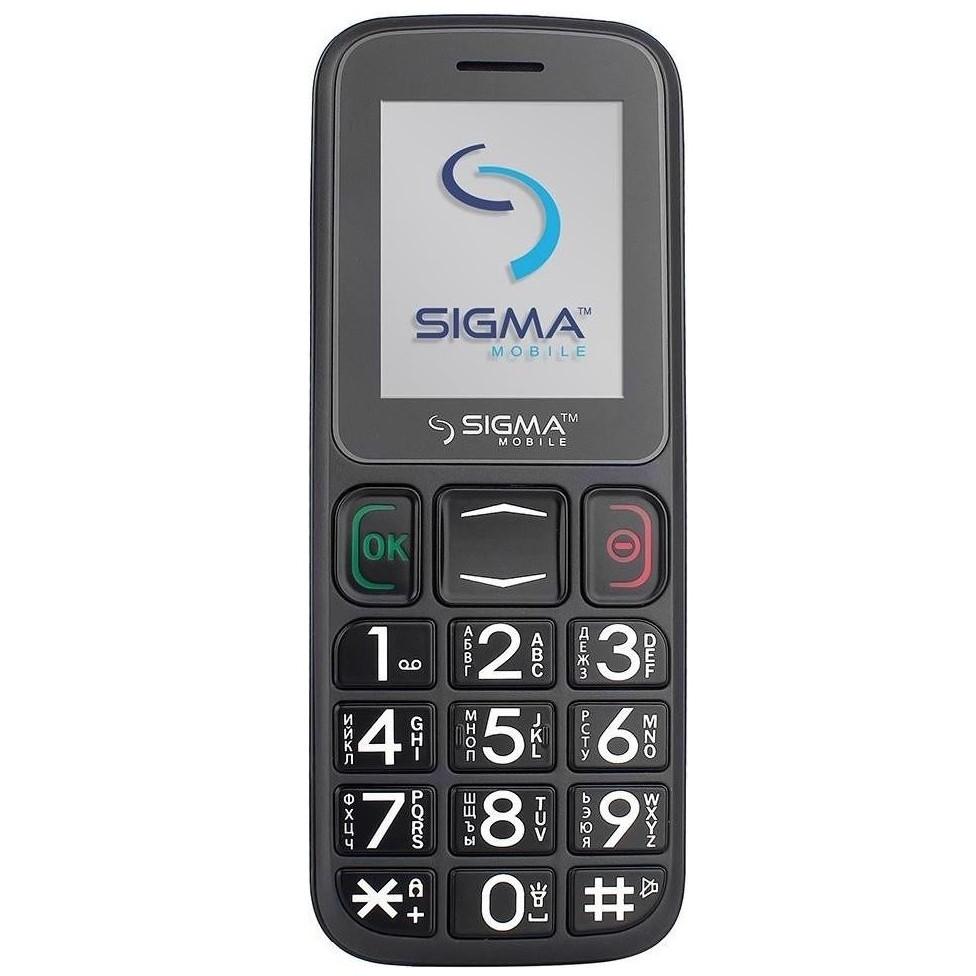 Мобільний телефон Sigma Comfort 50 Mini3 Black