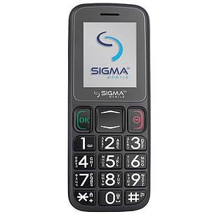 Мобільний телефон Sigma Comfort 50 Mini3 Black, фото 2