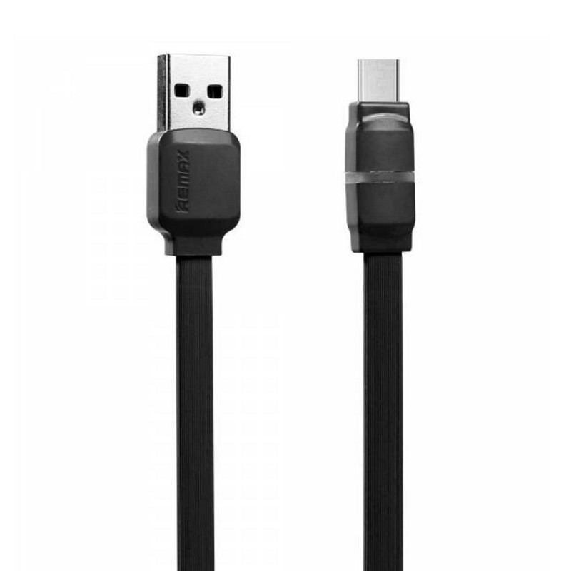 Кабель Remax RC-029m microUSB Breathe ser. Black