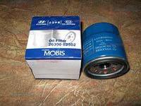 Фильтр масляный оригинальный  Hyundai/KIA  26300-02502