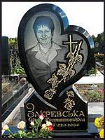 """Памятник гранитный """"Каменное сердце"""""""