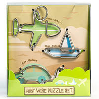 Детская головоломка First Wire Puzzle Set Transport