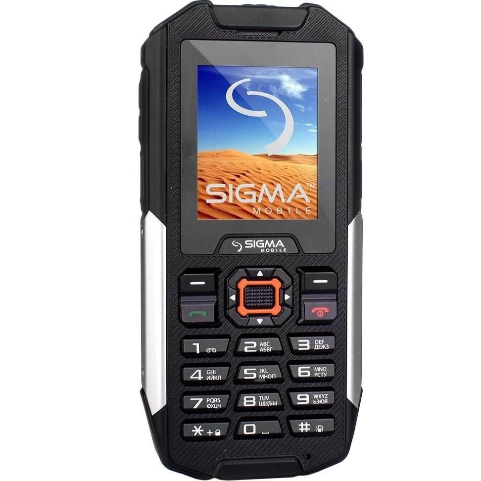 Мобільний телефон Sigma X-treme IT68 Black