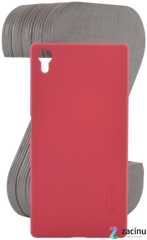 Чохол-накладка Nillkin для Sony Xperia Z5 Matte ser. + плівка Червоний(107069)