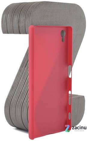 Чохол-накладка Nillkin для Sony Xperia Z5 Matte ser. + плівка Червоний(107069), фото 2