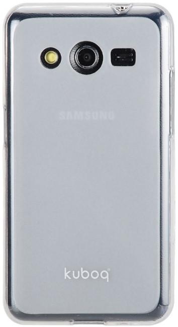Чохол-накладка Kuboq для Samsung G355 Galaxy Core 2 Advanced ser. TPU Прозорий/матовий