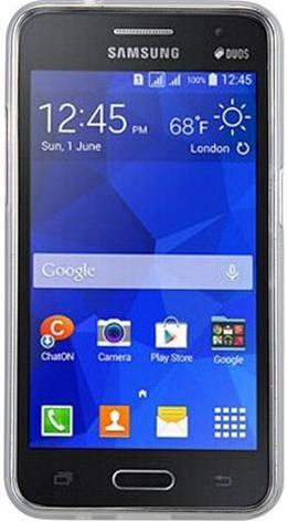 Чохол-накладка Kuboq для Samsung G355 Galaxy Core 2 Advanced ser. TPU Прозорий/матовий, фото 2