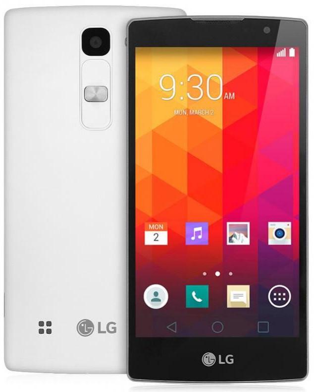 Смартфон LG Spirit H422 (білий)