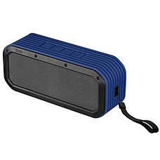 Портативна акустика Divoom Voombox-outdoor (2GEN) BT blue, фото 3