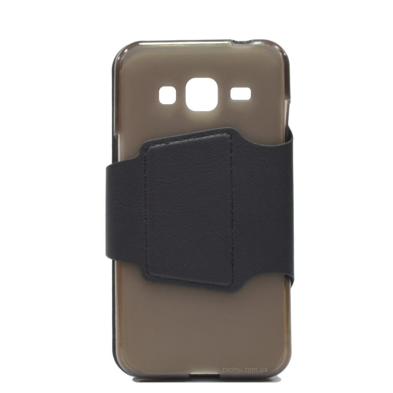 Чохол-книжка iMAX для Samsung J300H J3 Smart Case ser. Чорний