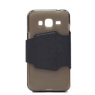 Чохол-книжка iMAX для Samsung J300H J3 Smart Case ser. Чорний, фото 2