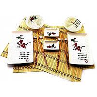 "Сервиз для суши ""Птица на ветке сакуры"" (2 персоны)(37х28,5х5,5см) ( 32356)"