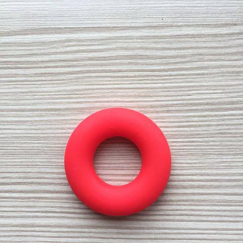 Колечко бублик (красный) 43мм