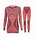 Комплект женского термобелья Haster Alpaca Wool L/XL Красный