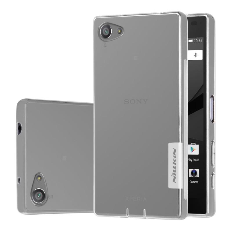 Чохол-накладка Nillkin для Sony Xperia Z5 Compact Nature ser. Прозорий/безколірний