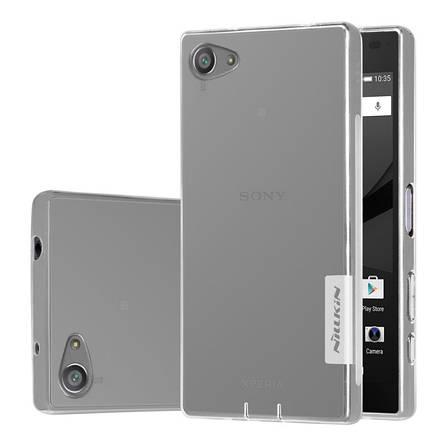 Чохол-накладка Nillkin для Sony Xperia Z5 Compact Nature ser. Прозорий/безколірний, фото 2