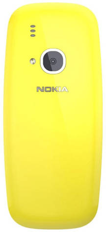 Мобільний телефон NOKIA 3310 Dual SIM (жовтий) TA-1030, фото 2