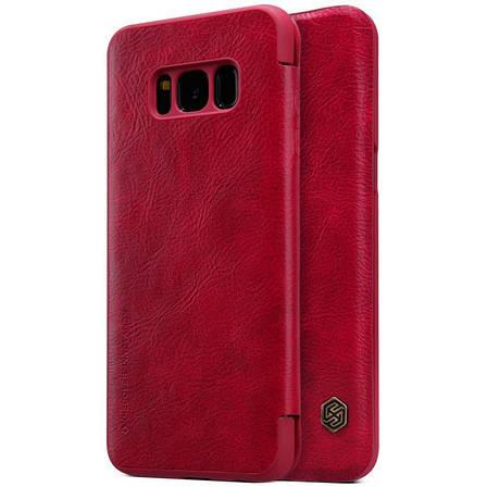 Чохол-книжка Nillkin для Samsung G950 S8 Qin ser. Червоний(138421), фото 2