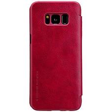 Чохол-книжка Nillkin для Samsung G950 S8 Qin ser. Червоний(138421), фото 3