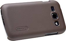 Чохол-накладка Nillkin для Samsung S7272 Matte ser. +плівка Коричневий, фото 2